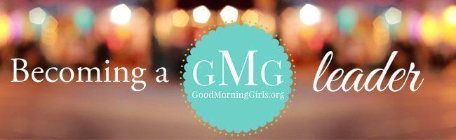 Becoming a GMG leader- Women's Online Bible Studies