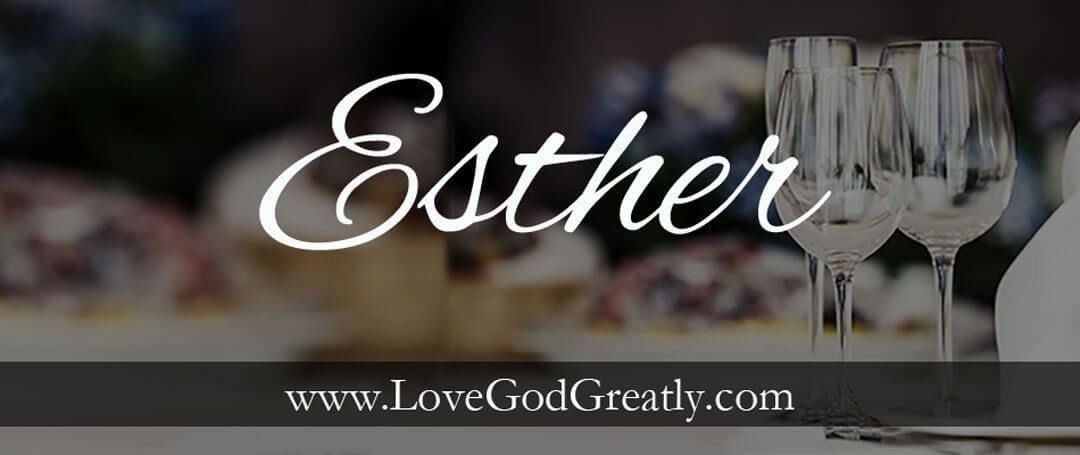 Some insight into the fascinating book of {Esther}…