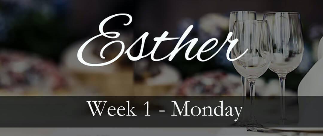 Esther Week 1 Fear Or Faith We All Have A Choice Love