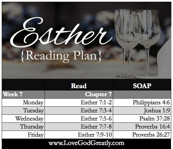 WK 7 Reading Plan