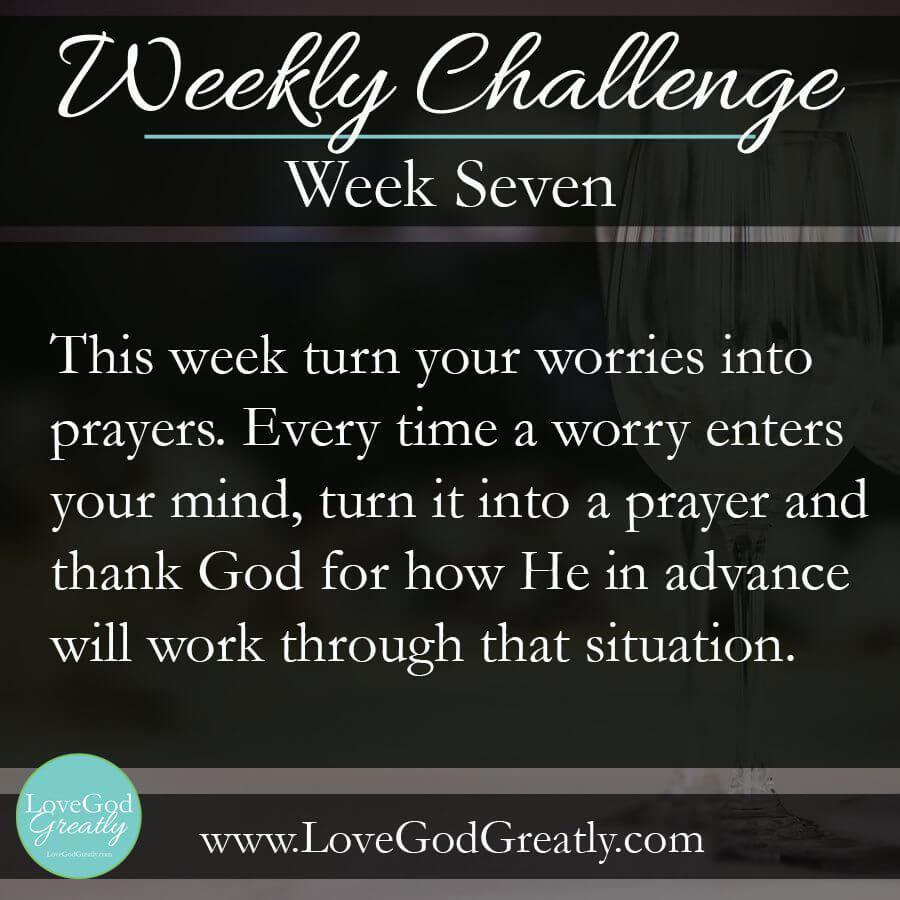 Weekly Challenge w7
