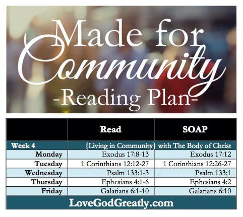 Love God Greatly-Reading Plan