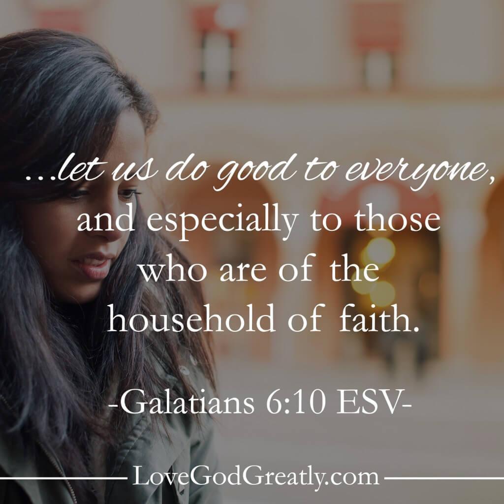 Love God Greatly-Memory Verse