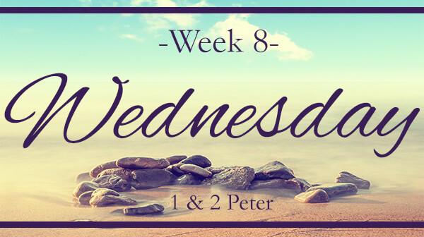 Love God Greatly-Peter-Week 8