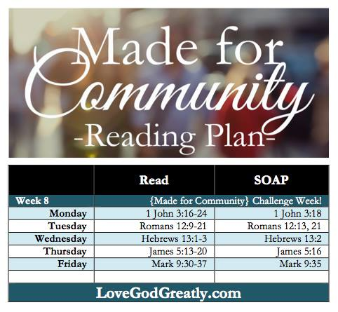 week 8 reading plan