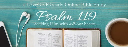 Psalm 119 Online Bible Study