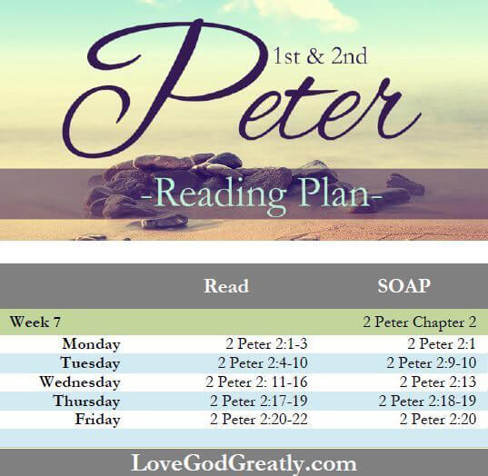 Love God Greatly - Week 7 Reading Plan