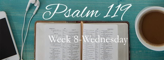 {Wednesday- Week 8} He Wants Our Praise…