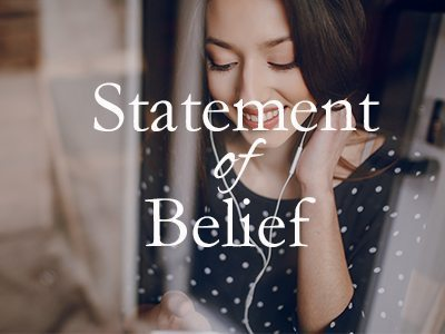 Statement of Belief