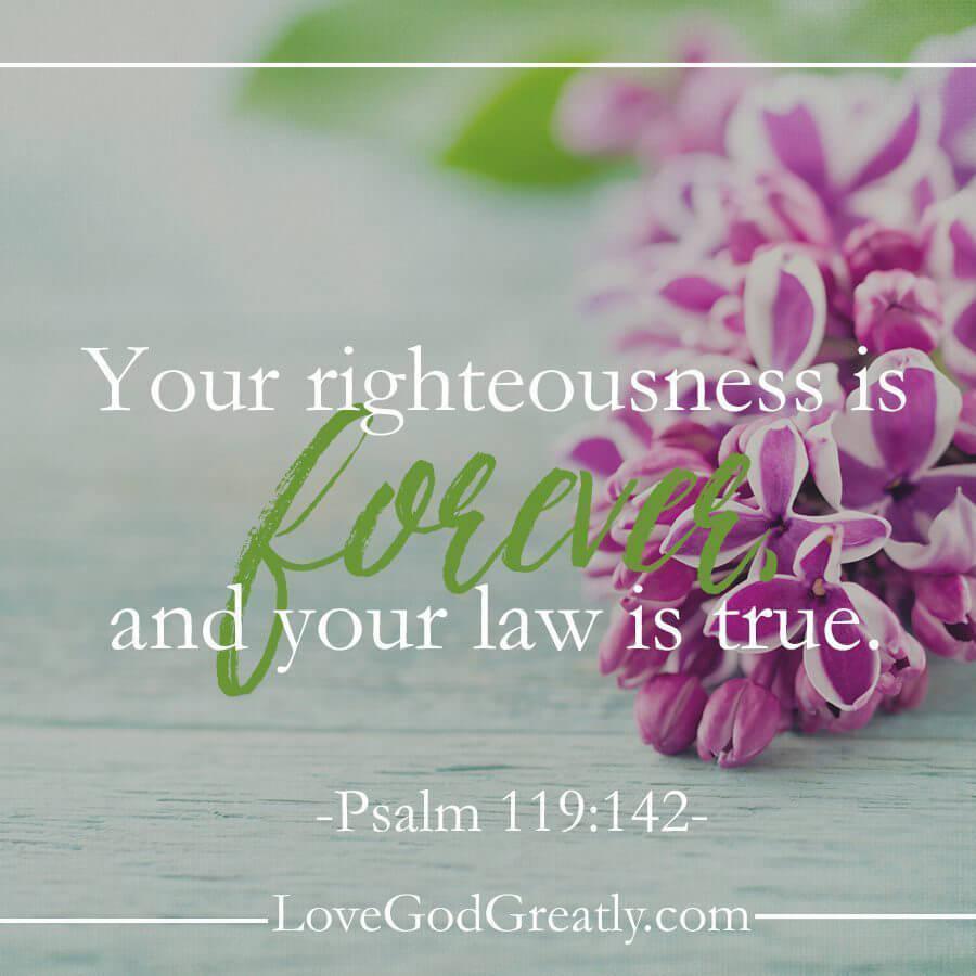 Love God Greatly Week 6 Memory Verse