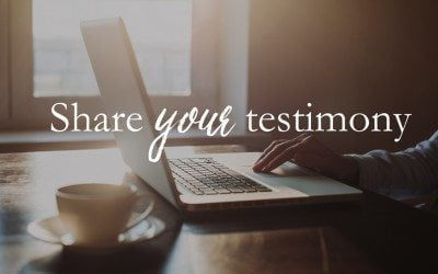Share your Psalm 119 Testimony!