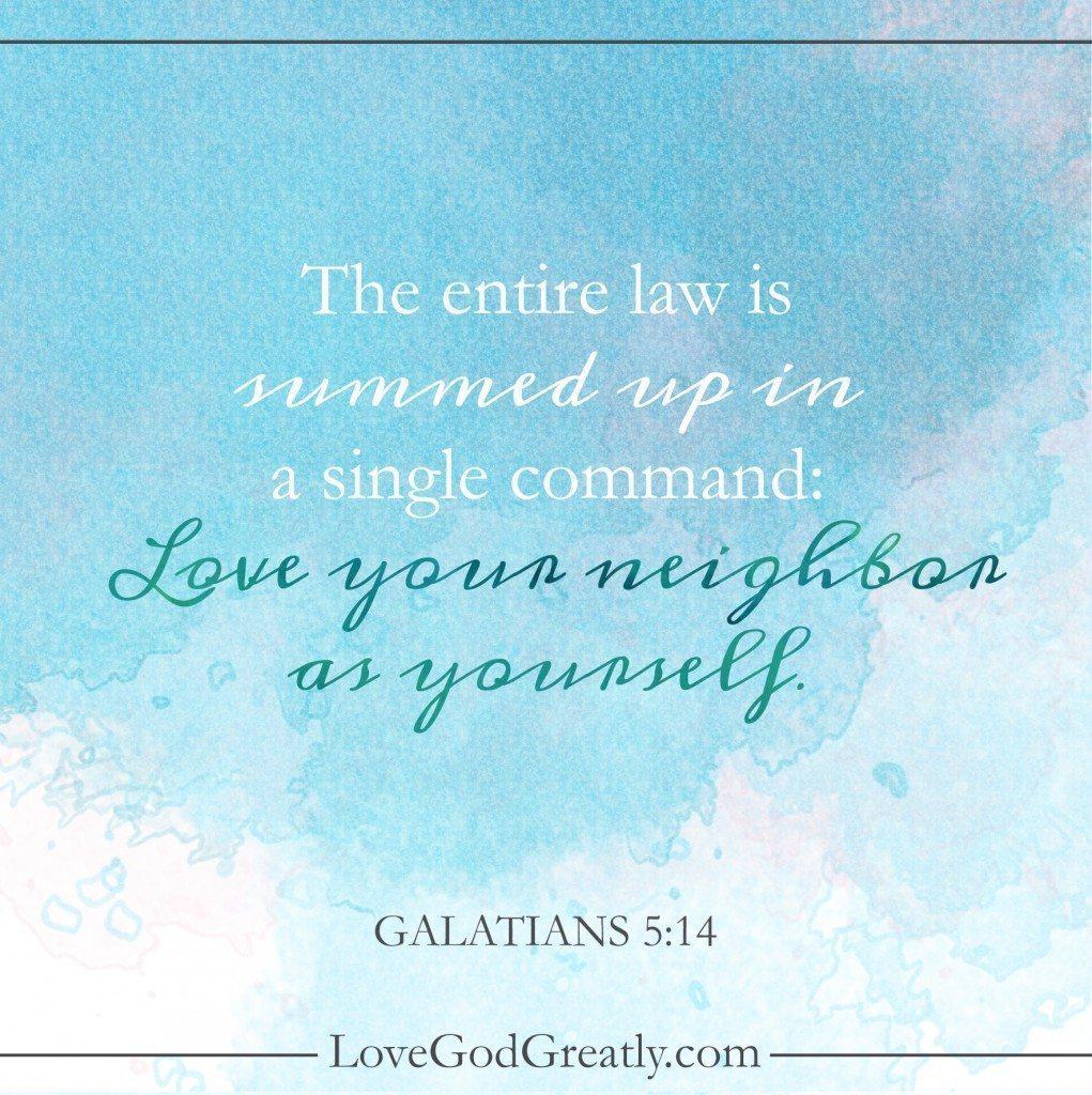 Galatians Week 5 Memory Verse