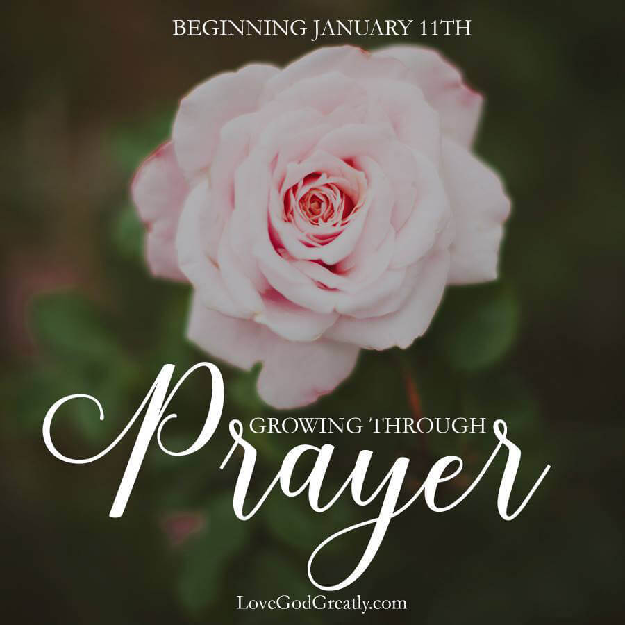 Growing Through Prayer