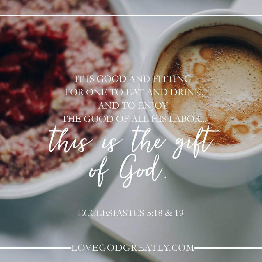 Ecclesiastes 5:18