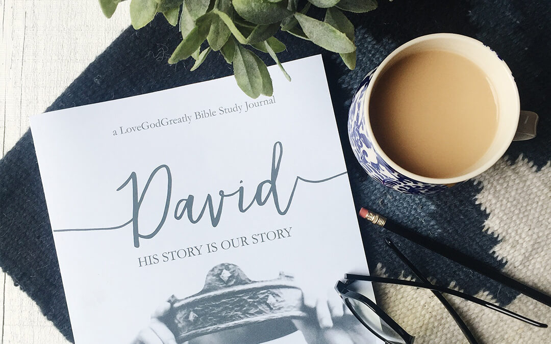 Now Available: David Study Journal & KIDS Journal!
