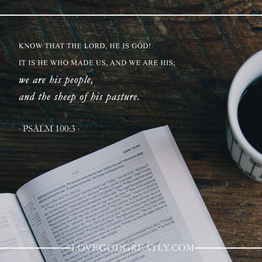 Love God Greatly- David
