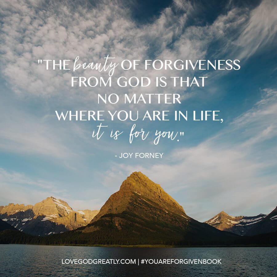 You Are Forgiven Book- Joy
