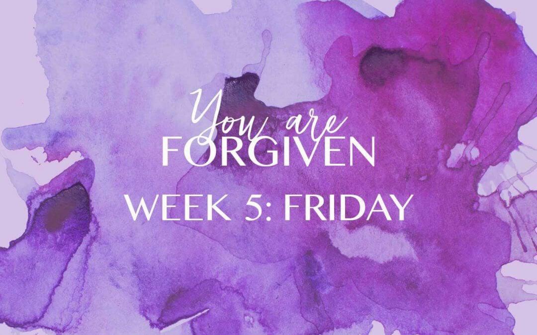 The Forgiven, Forgive…