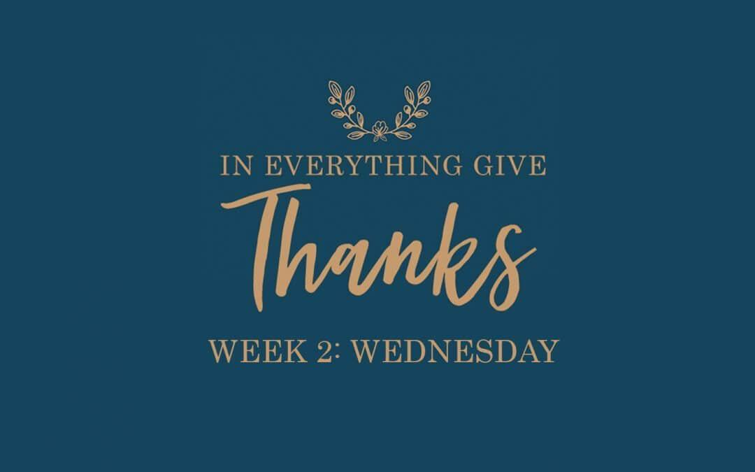 Grace, Gratitude & Glory