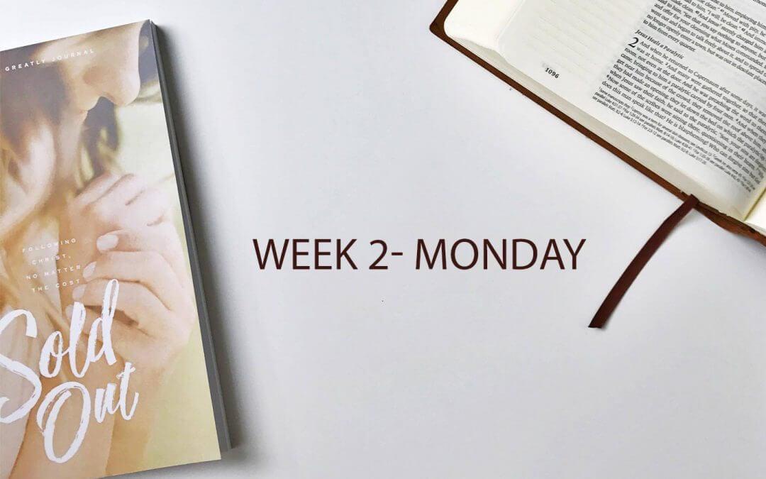 Week 2 – Following Christ, No Matter the Cost