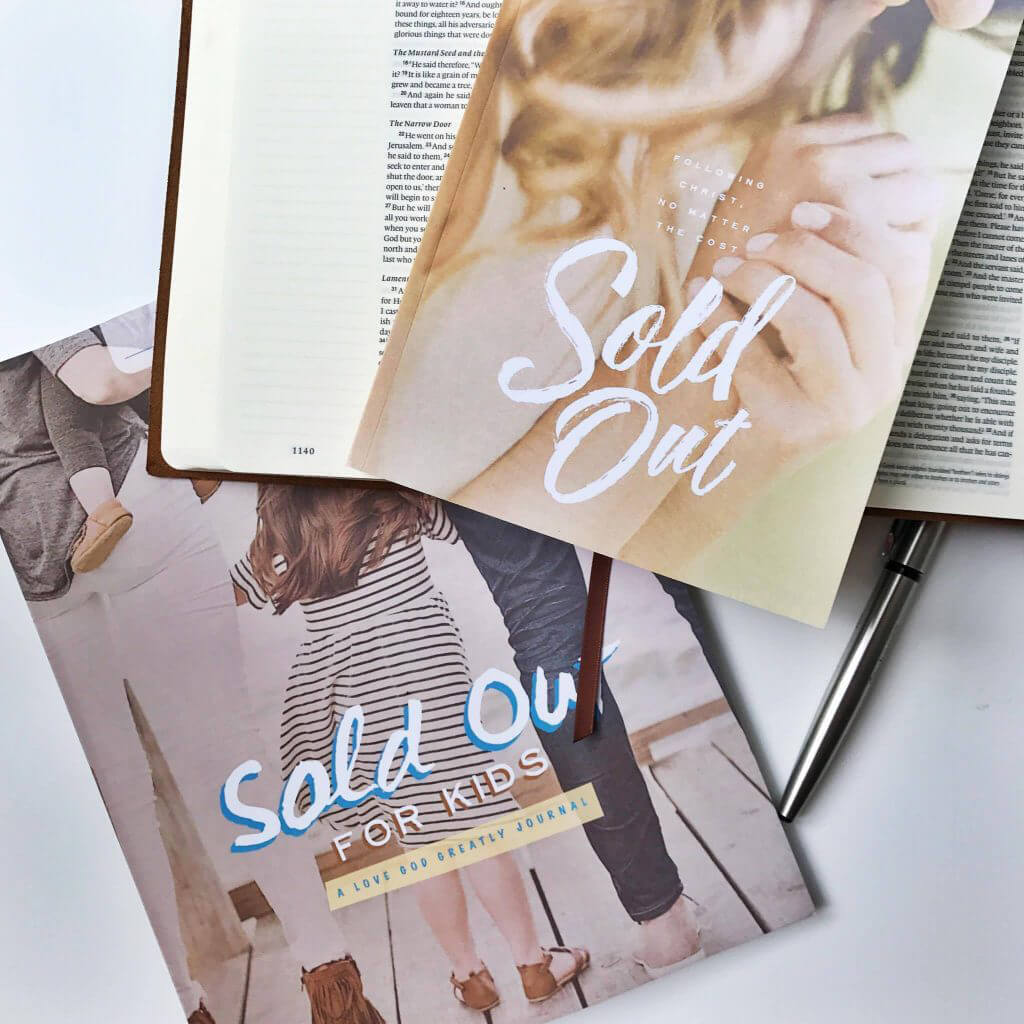 Sold Out Bible Study Journals