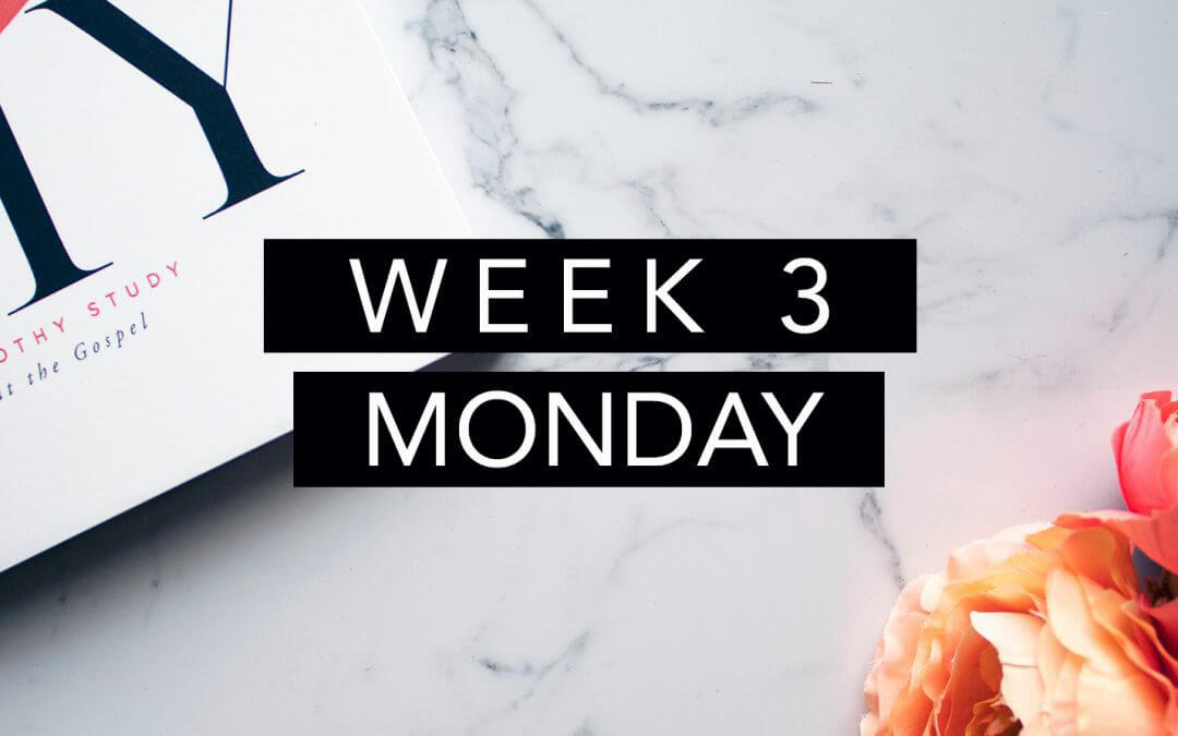 Week 3 – Spiritual Fitness