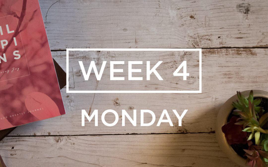 Week 4: The Joy of Giving Encouragement