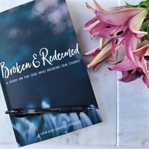 Broken and Redeemed Journal