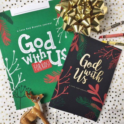 God With Us Study Journal for Kids