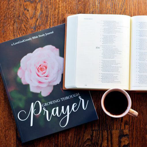 Growing Through Prayer Journal