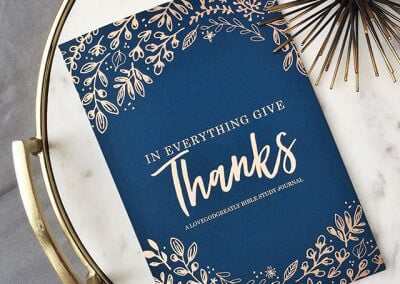 In Everything Give Thanks