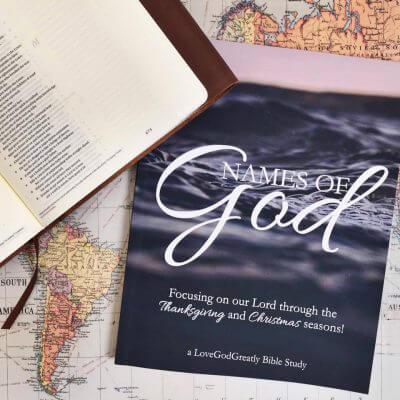 Names of God Study Journal