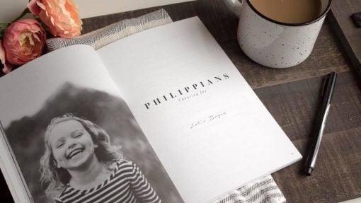 Philippians Study Journal for Kids