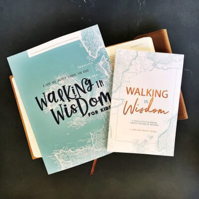 Walking in Wisdom Study Journal for Kids