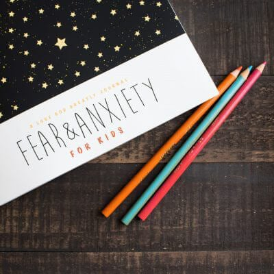 Fear & Anxiety Kids Bible Study Journal