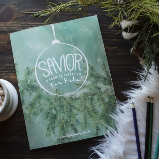 Savior for Kids bible study Journal