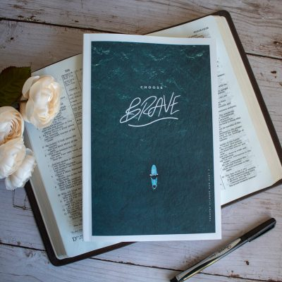 Choose Brave Study Journal