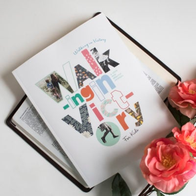 Walking In Victory Kids Bible Study Journal