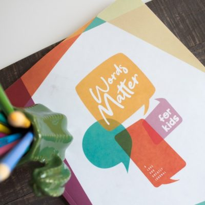 Words Matter Kids Journal