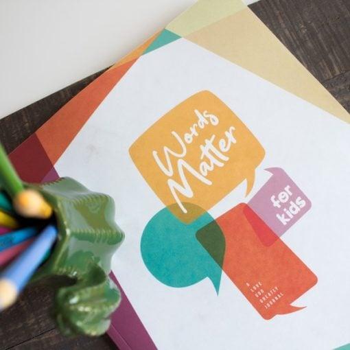 Words Matter Kids Journal