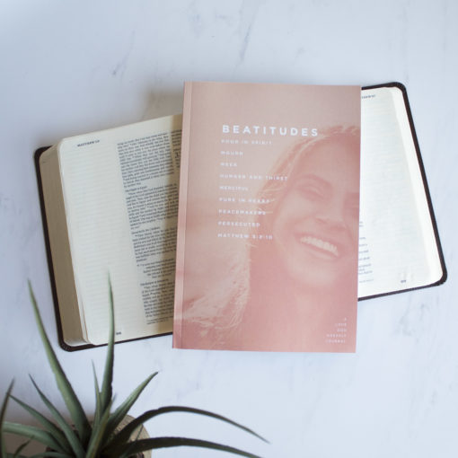 Beatitudes Women's Bible Study Journal