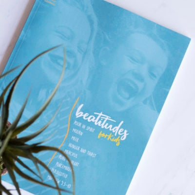 Beatitudes Kids Bible Study Journal
