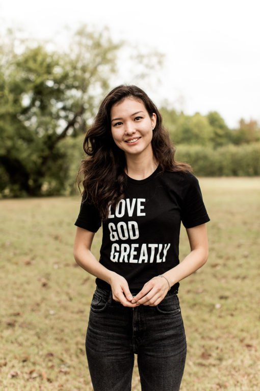 Love God Greatly T-shirt