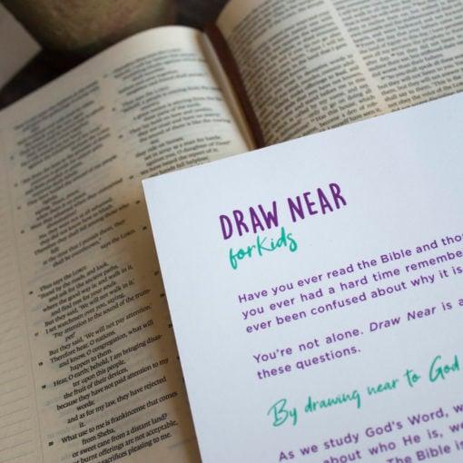Draw Near Kids Journal