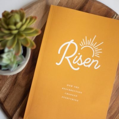 Risen Bible Study Journal