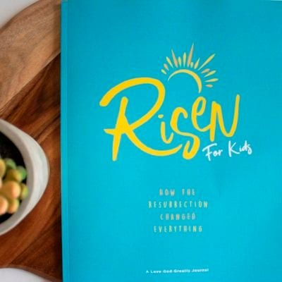 Risen Kids Bible Study Journal