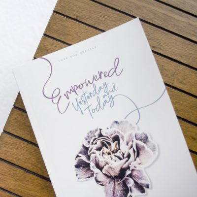 Empowered Bible Study Journal