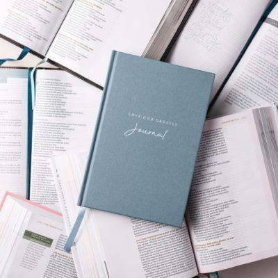Love God Greatly Journal
