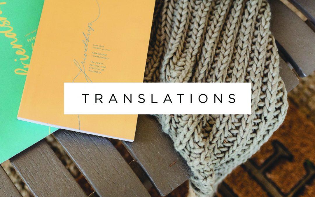 Friendship Translations