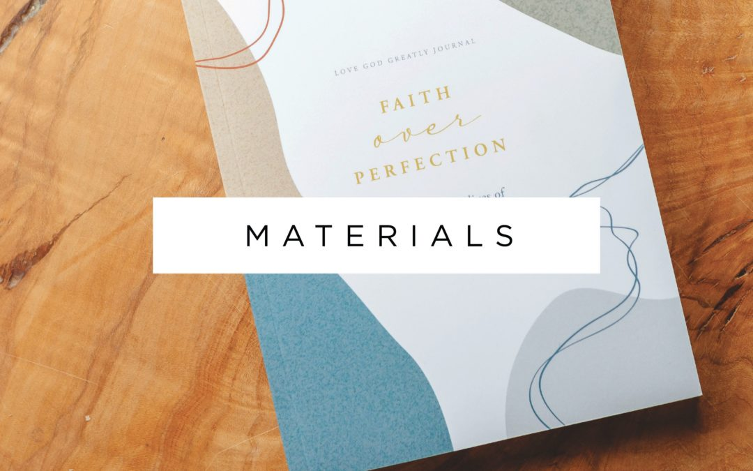 Materials Now Available!